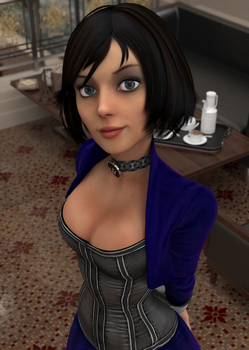 Inquisitive Elizabeth by Pseudonym3D