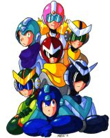 Six Guys and a Girl by General-RADIX