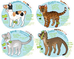 the gang's all here - cat auctions! closed by lyresandharps
