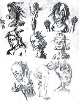 Sketches by theultimatejosh