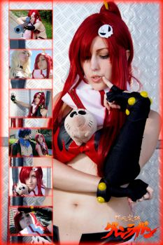 Yoko cosplay collage by YuriKoVIII