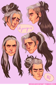 Olly's hair by UrsulaDecay