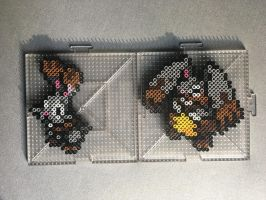 #659-#660 Bunnelby and Diggersby Perlers