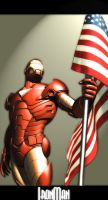 IronMan by theonePOOFEI