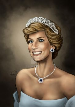 Princess Diana without logos by VinRoc