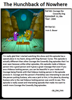 1001 Animations: The Hunchback of Nowhere by spongebobdrwhofan