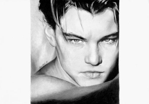 DiCaprio by Anna-Mariaa