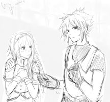 Vermeil and Zell (request) by UrsaJr