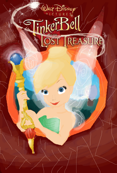Tinkerbell - The Lost Treasure by SaboREENA