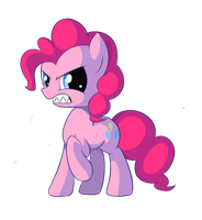 Pinkie Pie's Anger Sustains Me by Xasthurr