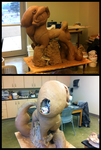 Big Luna Sculpt Mane Construction ALMOST DONE! by bigponymac