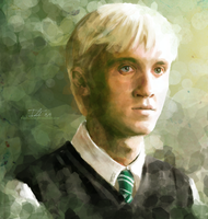 Draco Malfoy by 4leafcolour