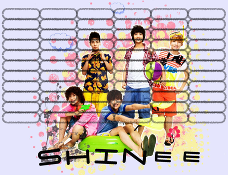 SHINee timetable#2 by chicky7333