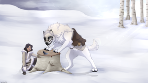 RoF | Feather on the Wind by Salt-Dog