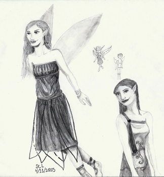 Faeries by SarahRiddle