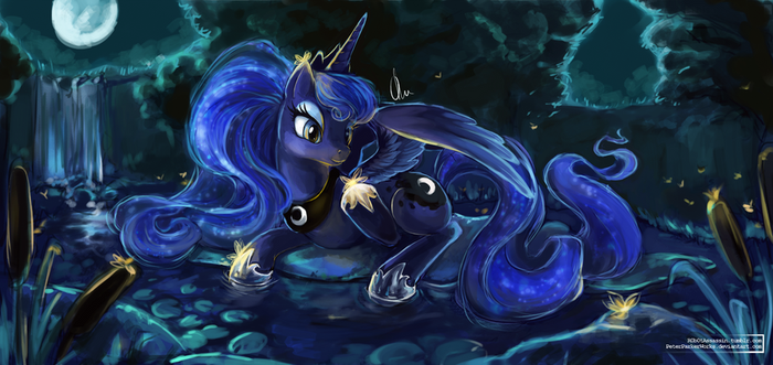 It seems my night is still enjoyed by some by The-Keyblade-Pony