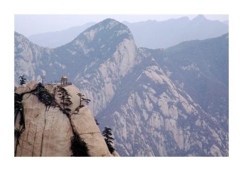 Mount Huashan / Chess Pavilon by cb100