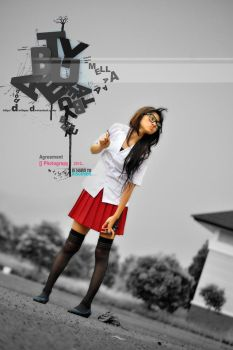 UNIFORM white and Red of Indonesia by Melladefase