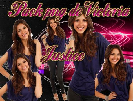 pack png de victoria justice by Paolitaa