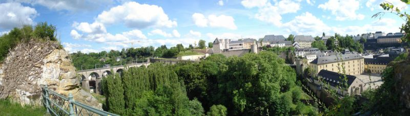 Luxembourg panorama by MoonChildMaddi