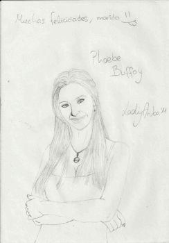 Phoebe Buffay from Friends by LadyAruba