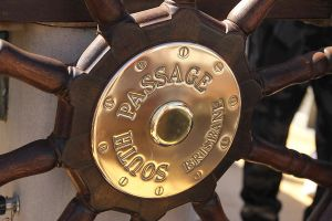South Passage ship's wheel by ScurvySimon