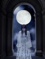 A Lost Soul Under the Moon by RogerioGuimaraes