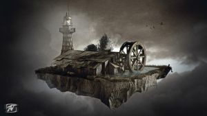 Flying House by AhmadTurk