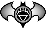 Batman White Lantern Logo by KalEl7