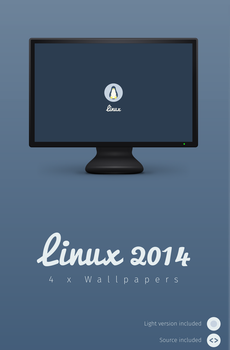Linux 2014 Wallpaper by 0rAX0