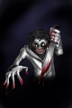 Jeff the Killer (Colored) by Pandapaws18