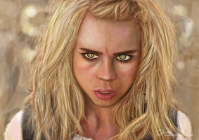 Rose Tyler, Bad Wolf. by suanlee