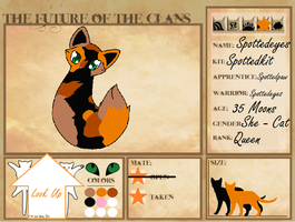 Spottedeyes Ref. Sheet by DreamsOfHopes