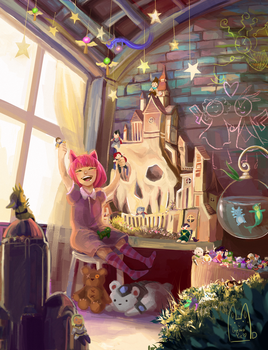 Annie's Toys by Guava-Pie