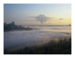 City in the Clouds by mandrell
