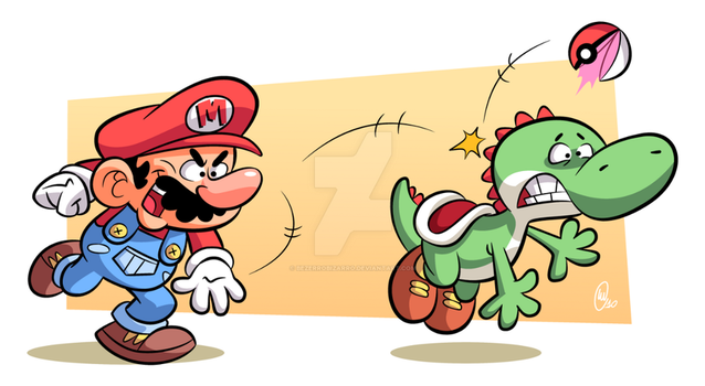 How to capture a Yoshi by BezerroBizarro