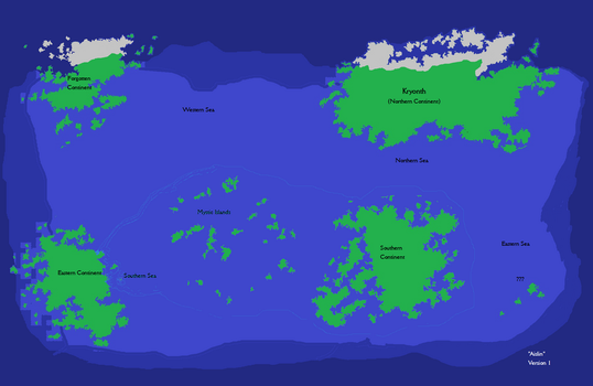 First version of Aislin Map by mizaria