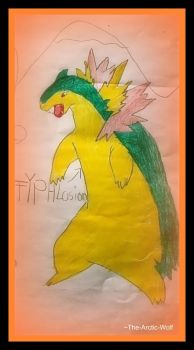 Typhlosion by Arctic-Wolf-Lover