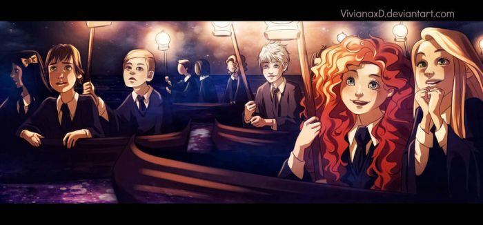 Finally I'm going to Hogwarts by Cuine