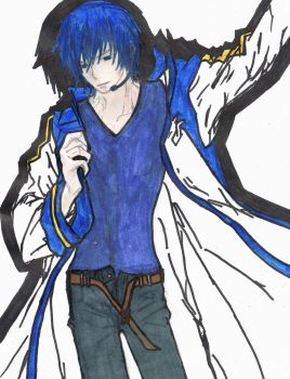 Kaito COLOR! XD by ShizuCelty-Heiwason