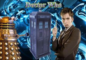 Doctor Who Wallpaper by hameat