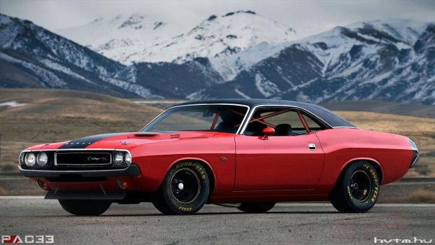 Dodge Challenger by pacee