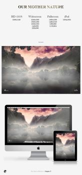 Our Mother Nature Wallpaper Pack by PaulHectorT