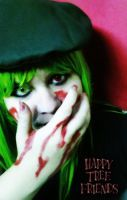 Happy Tree Friends Flippy Cosplay by ReiParaguay