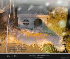 Snowy Day // Hamsters house Winter Edition by Deux-re-Saiyaru