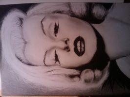 Marilyn (Finished) by PrincessPencil