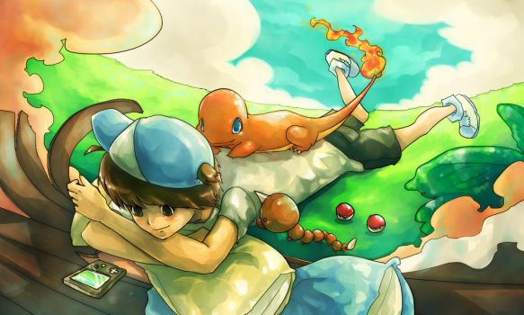 Pokemon : I am Pokemon Trainer by Sa-Dui