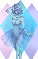 Blue Pearl by Ginxx