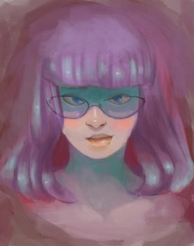 Pastel -study by AIexandre