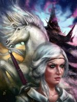 p 65 Ciri x Unicorn x Tor Lara by BlackAssassiN999